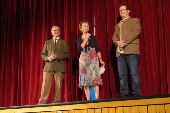 Dieter Struß - GCE, Brigitte Kuchinke - TVE, Markus Depping - Handel + Gewerbe e.V.