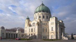 Friedhofskirche zum Heiligen Karl Borromäus bzw. Luegerkirche - Zentralfriedhof